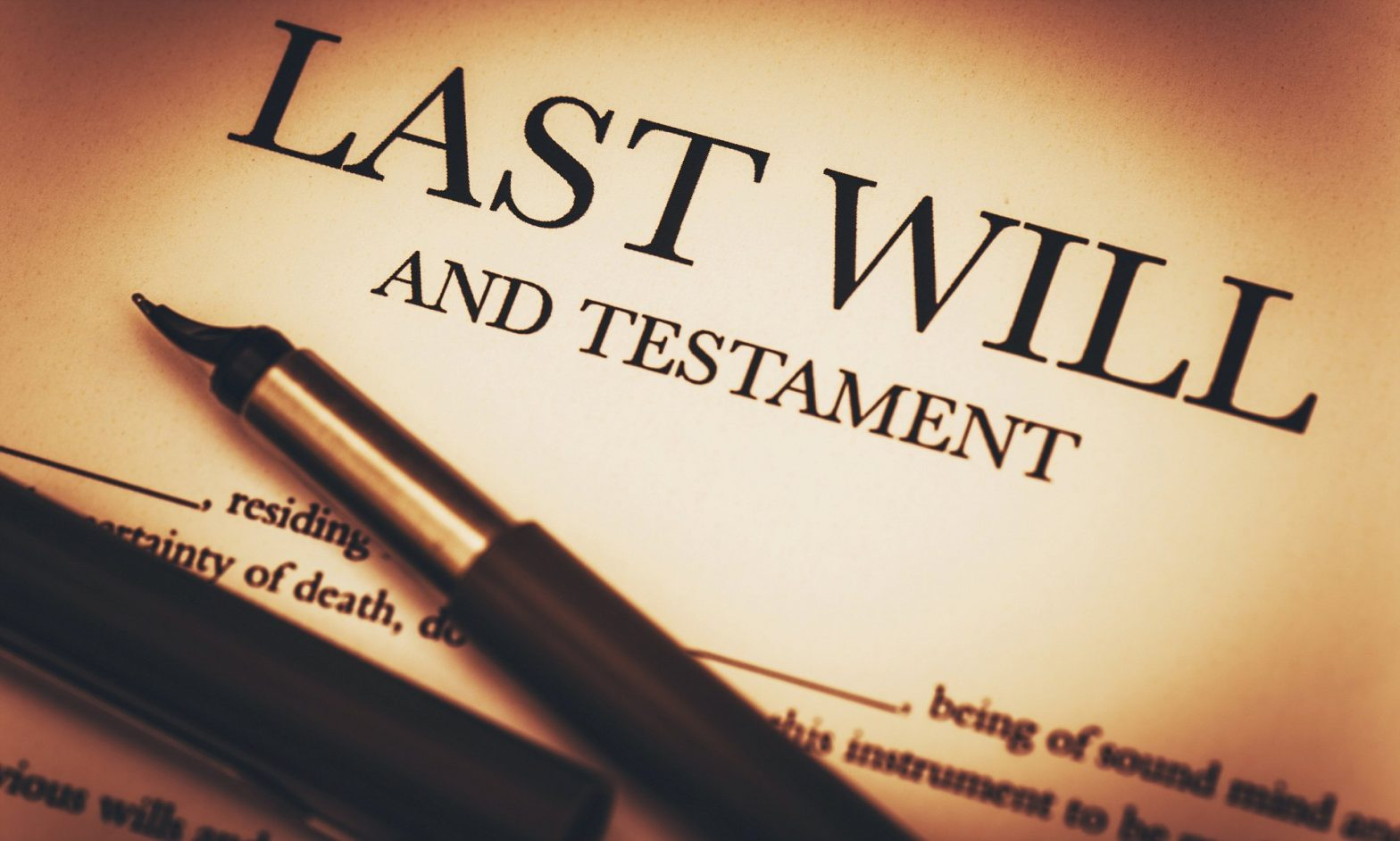 The importance of preparing wills